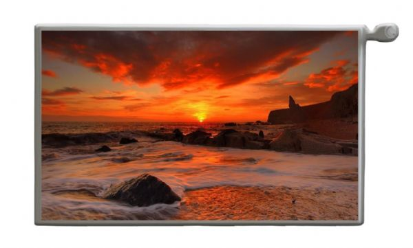 SUNSET Magnetic Radiator Cover